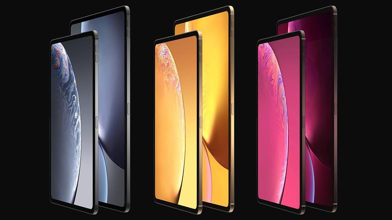 iPad Pro 2018: il nuovo design borderless in anteprima attraverso nuovi render