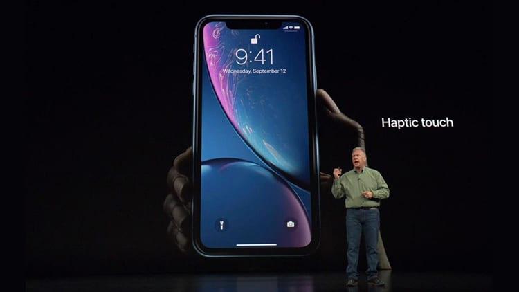 Sull'iPhone XR l'utilizzo dell'Haptic Touch verrà ampliato con futuri aggiornamenti