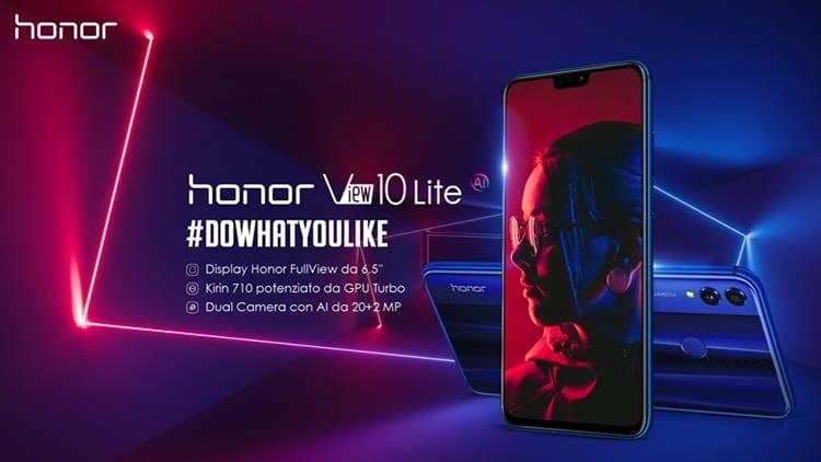 Honor View 10 Lite arriva ufficialmente in Italia uno tra i migliori smartphone di fascia media [Video Hands-on]