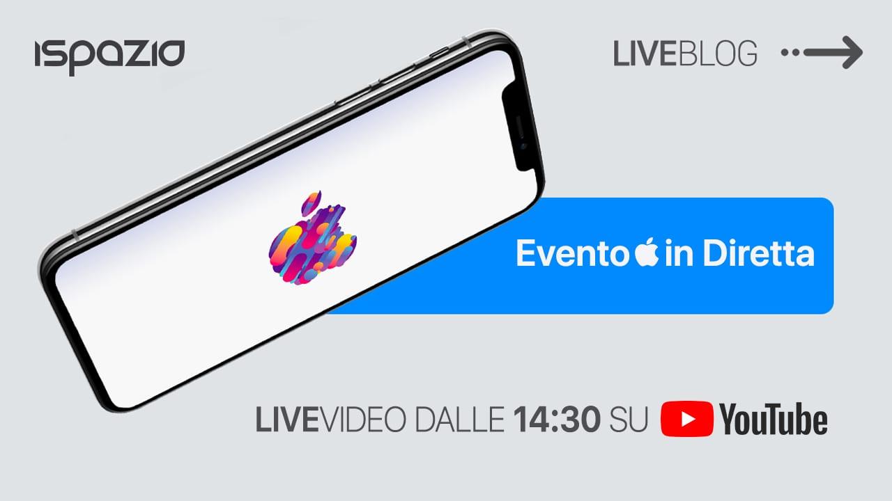 Evento Apple 30 Ottobre: seguilo in diretta su iSpazio con LIVEBlog + diretta YouTube