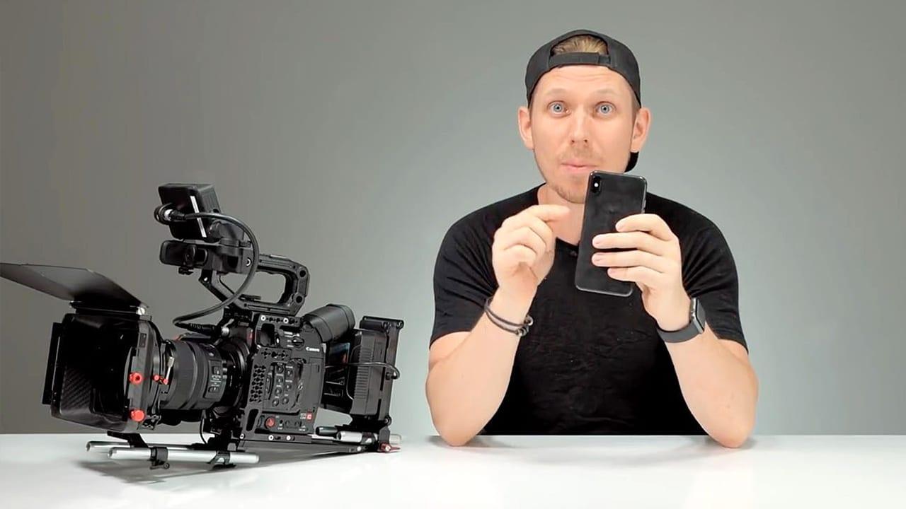 Un regista compara la videocamera dell'iPhone XS Max ad una Canon da 10 mila dollari [Video]