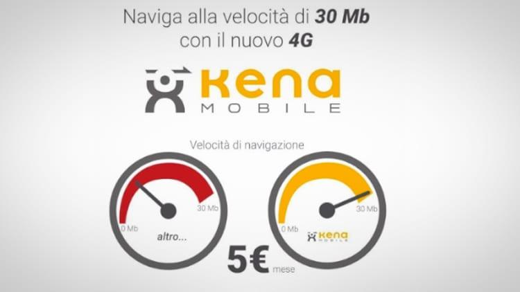Kena Mobile attiverà il 4G a tutti a partire dal 17 Ottobre
