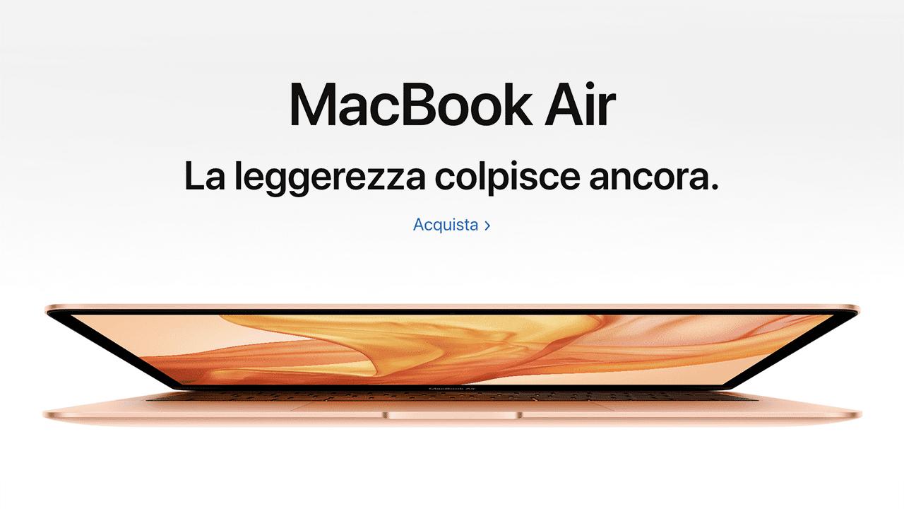 Nuovo MacBook Air già disponibile al pre-ordine: ecco quanto costa in Italia!