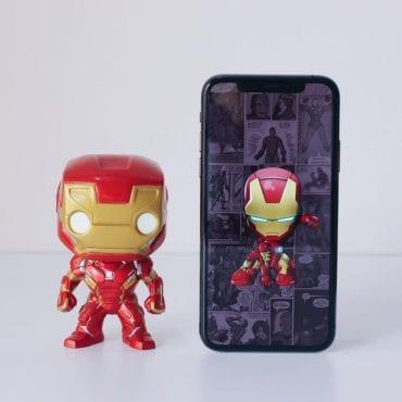 marvel iron man wallpaper ispazio