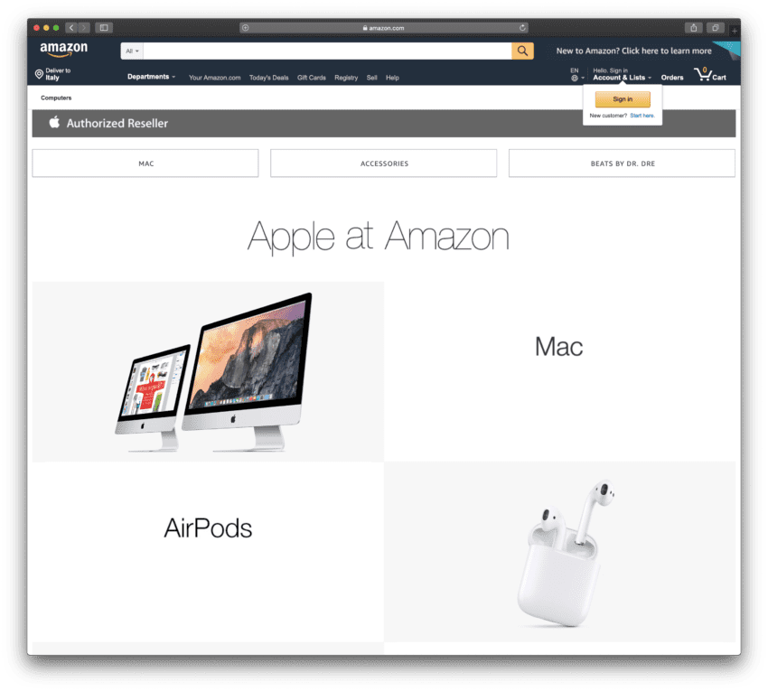 apple su amazon