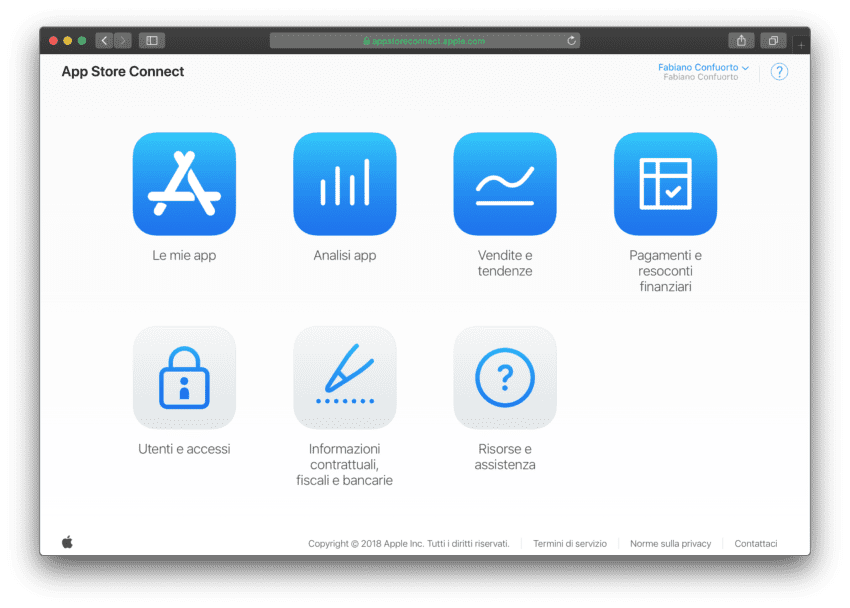 appstore connect