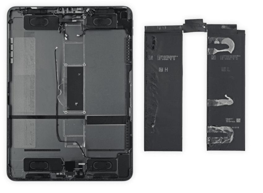 teardown batteria iPad Pro 12,9 pollici