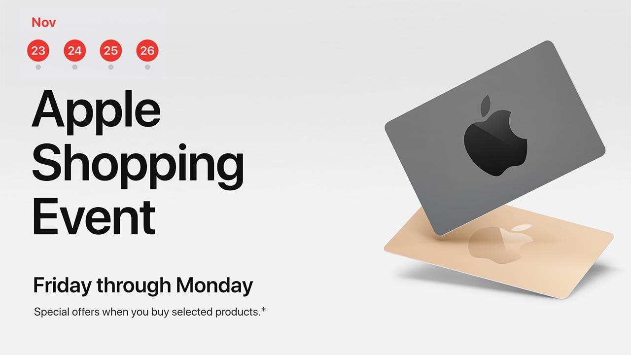 black friday apple
