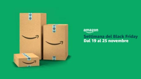 settimana del black friday amazon