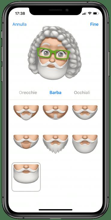 Barba Memoji