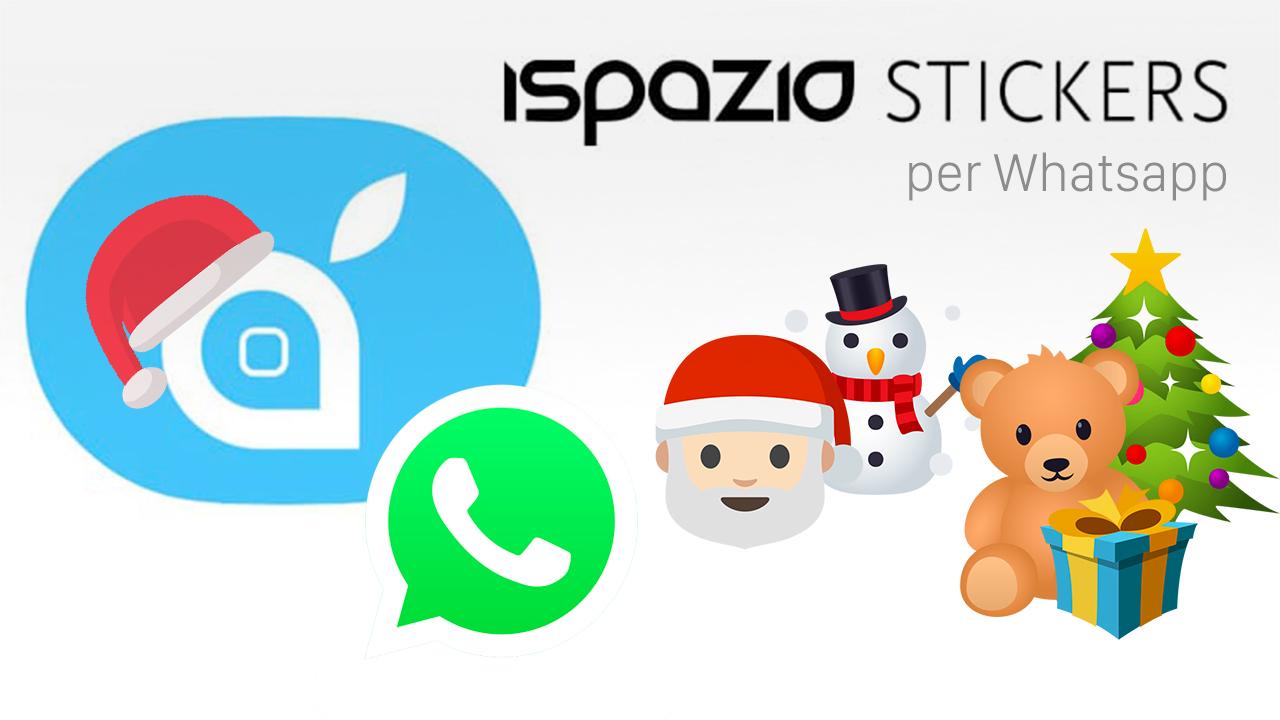 iSpazio stickers natale whatsapp