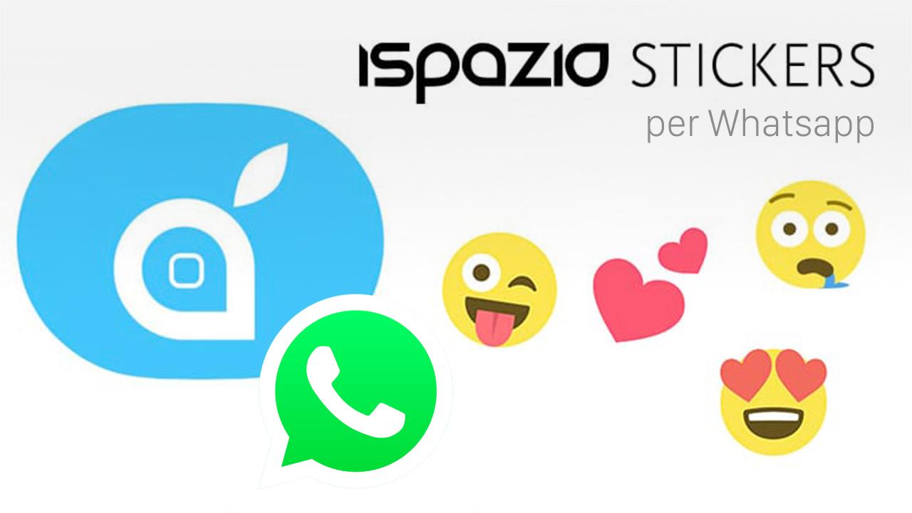iSpazio stickers per Whatsapp