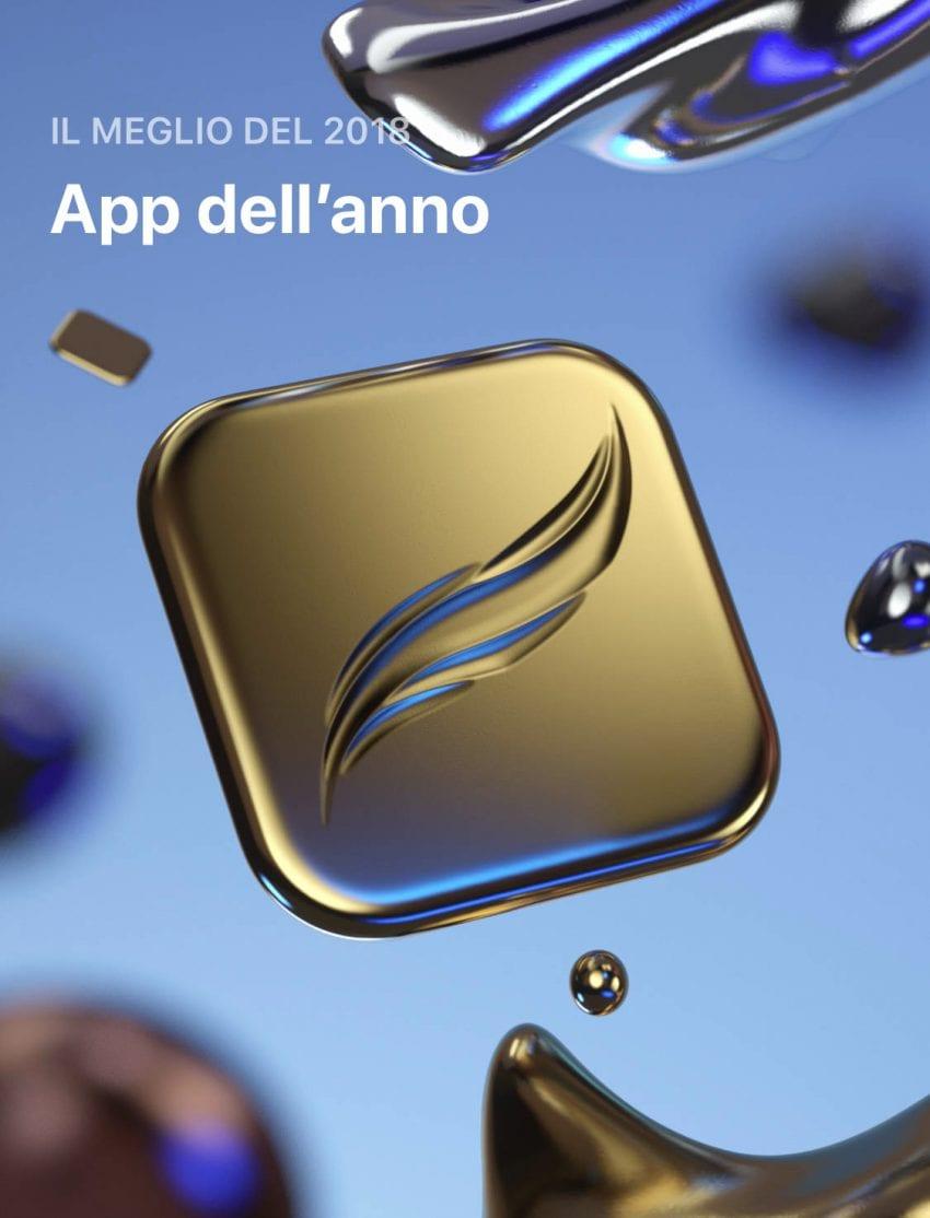 app dell'anno