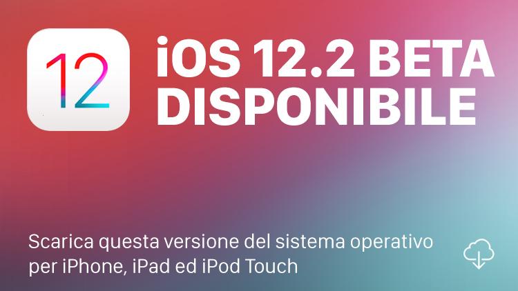 Apple rilascia la prima beta di iOS 12.2 e watchOS 5.2