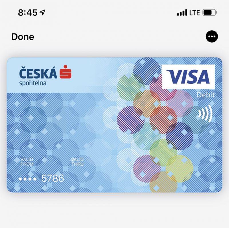 Apple Pay Repubblica Ceca