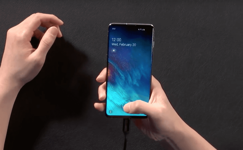 Galaxy S10e S10 S10+ impronte digitali