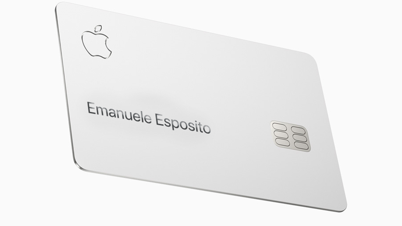 Da oggi disponibile la Apple Card, ma solo in America