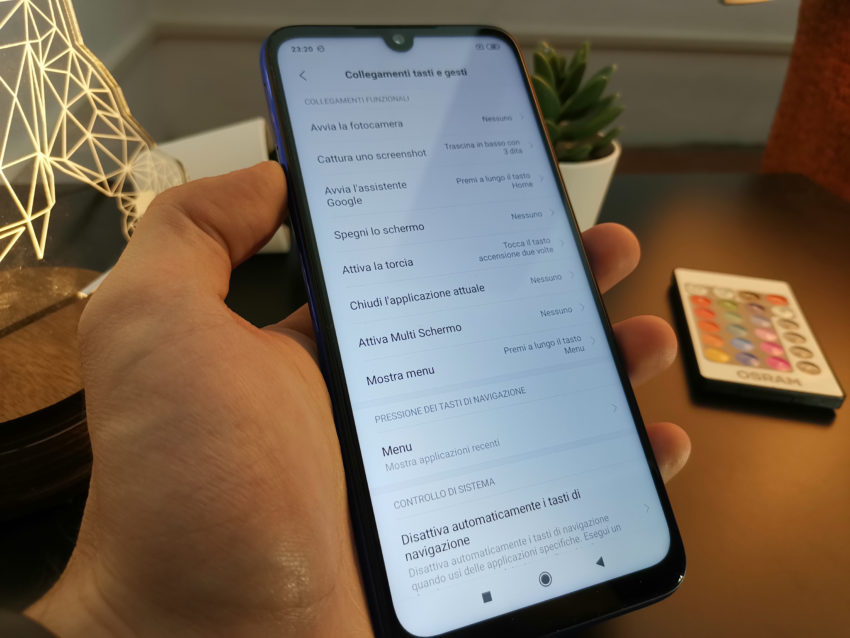REDMI NOTE 7 Gestures