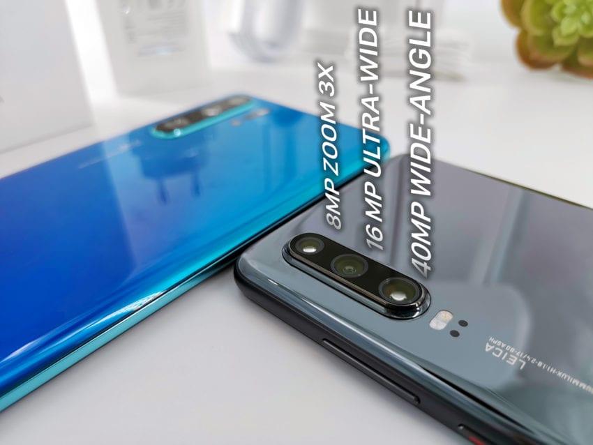 Huawei P30 schema camere