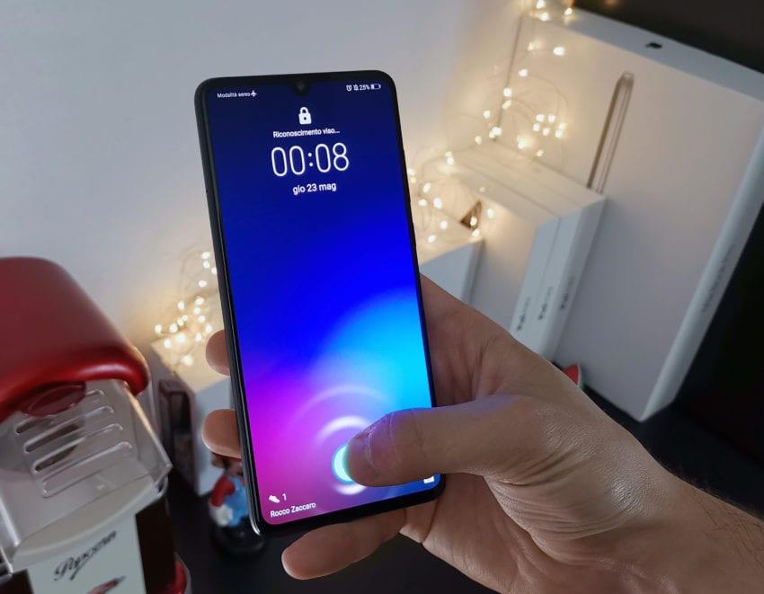 Huawei P30 impronte