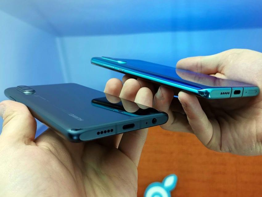 Huawei P30 Confronto con P30 Pro