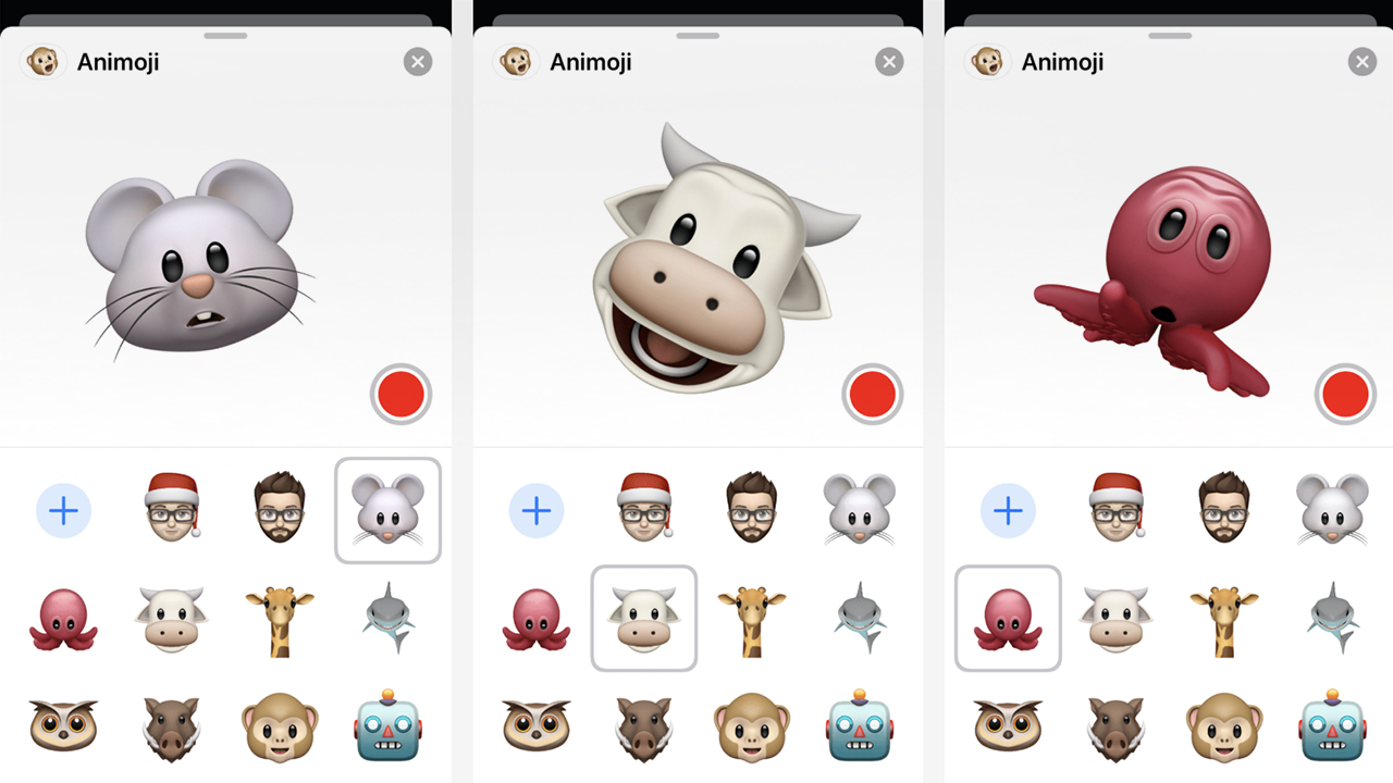 animoji ios 13