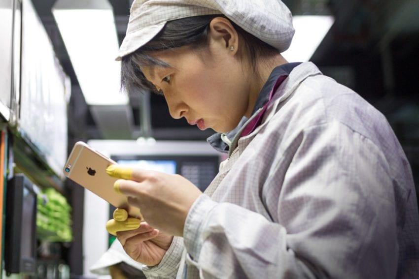 produzione iPhone