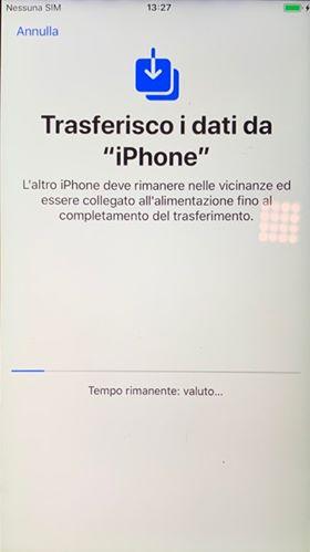 migrazione dati iPhone 2