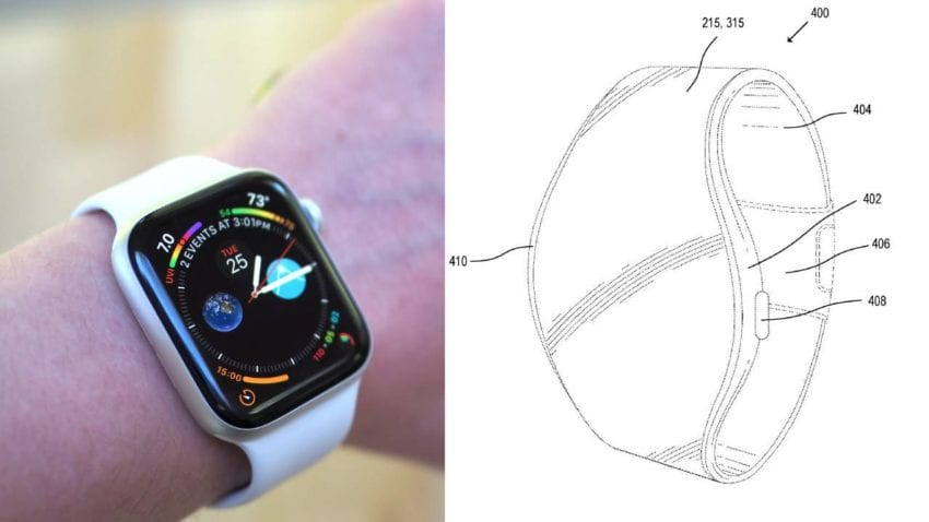 Apple Watch display MicroLED
