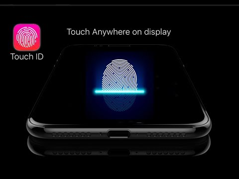 Touch ID in-display
