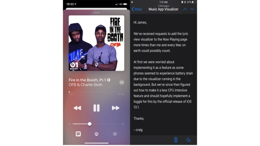 testi apple music