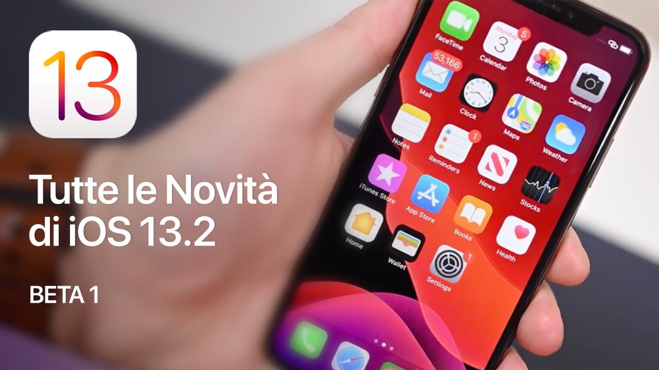 iOS 13.2 novità changelog