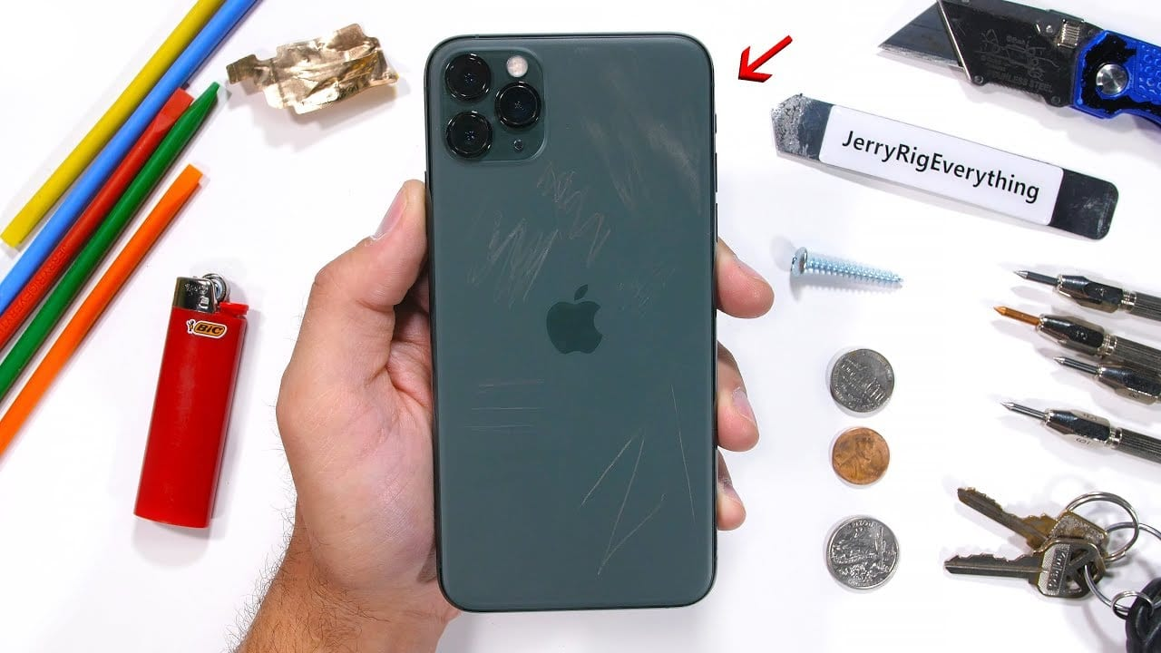 iPhone 11 Pro Scratch Test