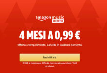 Photo of ULTIMO GIORNO! Amazon Music Unlimited costa soltanto 0,99€ per 4 mesi