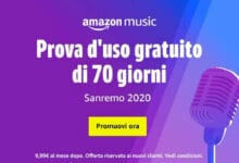 Photo of Amazon per Sanremo 2020, offre 70 giorni di Musica illimitata e Gratuita in streaming