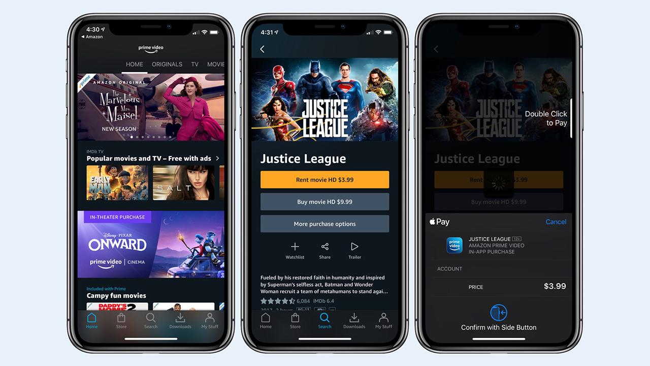 Amazon Prime Video ora consente noleggi e acquisti in-app su iPhone, iPad e  Apple TV