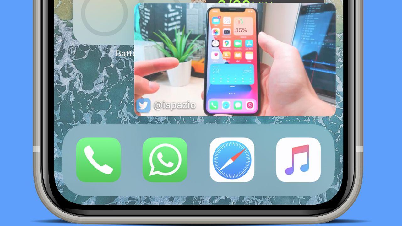 YouTube funziona con Picture-in-Picture in iOS 14