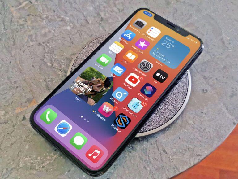 otto Q ricarica iPhone