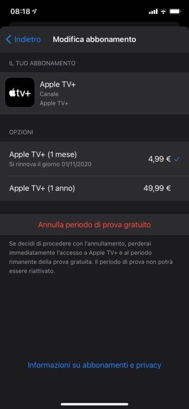 Come Annullare L'abbonamento Di Apple TV+ Su IPhone, IPad