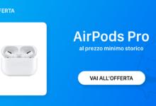 Photo of Le AirPods Pro sono in sconto su Amazon a 189,99€